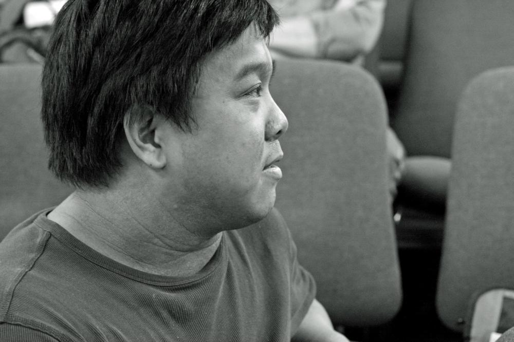 Playwright Jonathan G Galvez